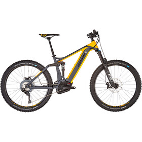Conway eMF Powertube 527 Plus E-Bike grijs/oranje